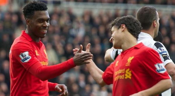 Daniel Sturridge (Kiri) bersama Coutinho (Kanan) menjadi pemain andalan Liverpool/Ist