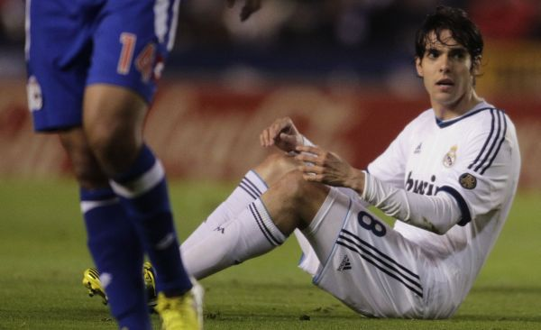 Gelandang Real Madrid, Kaka. (Foto: Reuters)