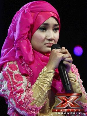 Fatin Shidqia saat tampil di Road to Grand Final (Foto: Arif/okezone)