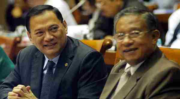 Agus Marto & Darmin Nasution. (Foto: Setkab)