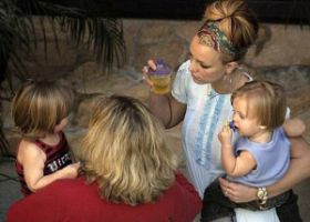 Britney Spears dan anak-anak (Foto: Ist)