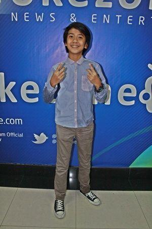 Iqbal, personel Coboy Junior (Foto: Dede/Okezone)