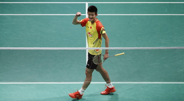 Chen Long wakil China di Tunggal Putra. (Foto: Reuters)