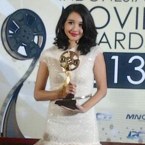 Laudya Cynthia Bella Puas Jadi Pemeran Utama Wanita Terfavorit