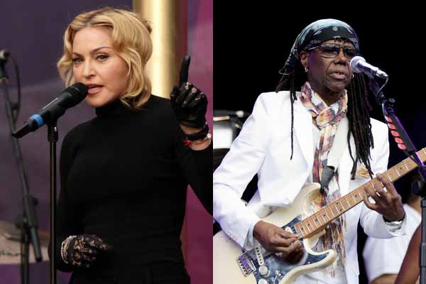 Madonna & Nile Rodgers (foto: PA Images)