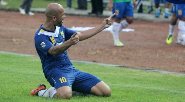 Sergio van Dijk cetak dua gol dan dua assist kala Persib menang 4-3 atas PBR/Okezone