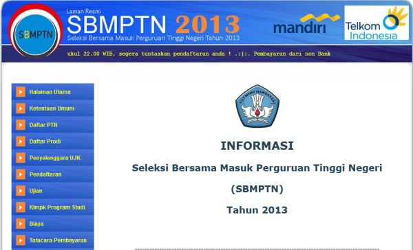 Laman SBMPTN