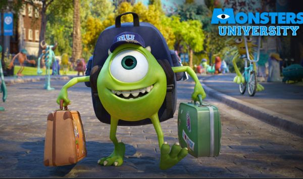 Brad Pitt Dikalahkan Monster University