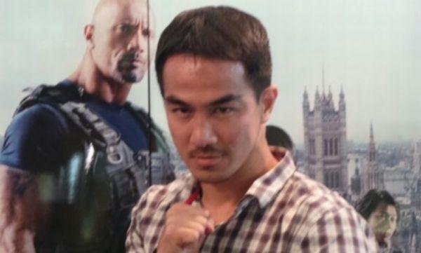 Joe Taslim Jadi Setengah Jepang di La Tahzan
