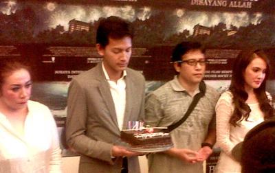 Ultah Fedi Nuril Dirayakan Bareng Peluncuran Film