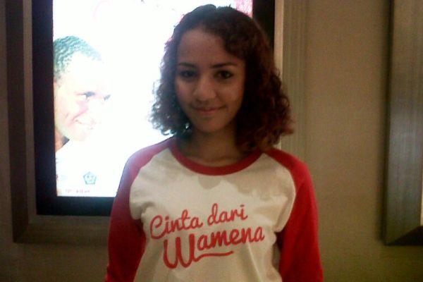 Madona Marey Susah Nangis di Film Cinta dari Wamena