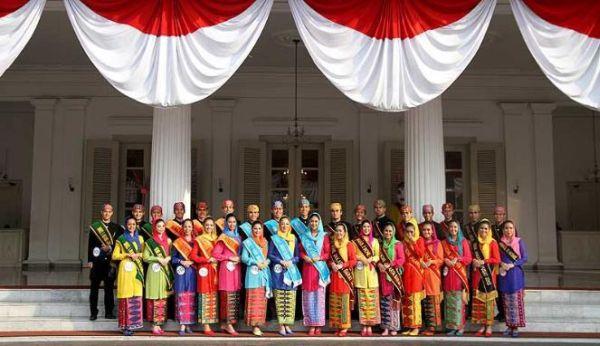 Banyu Biru Mendukung Abang None Jakarta 2013