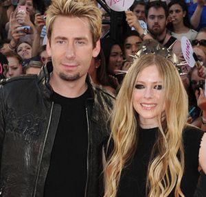 Avril Lavigne Resmi Menikah dengan Chad Kroeger