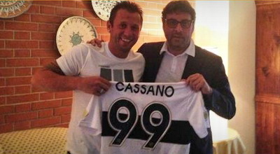 Antonio Cassano (foto: Parma.com)