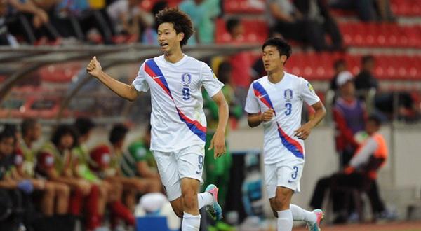 Duo punggawa Korea Selatan yang melaju ke babak delapan besar. (Foto: Ist)