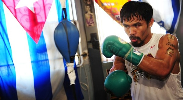 Manny 'Pacman' Pacquiao. (Foto: Daylife)