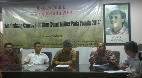 Hanya Jokowi yang Mampu Kalahkan Capres Militer