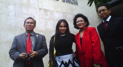 Sebar SMS Fitnah, Eva Jerat Kanaya Tabitha dengan UU ITE