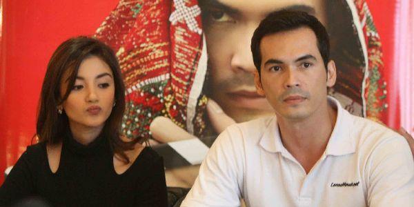 Atalarik dan Tsania Rayakan Lebaran di Jakarta
