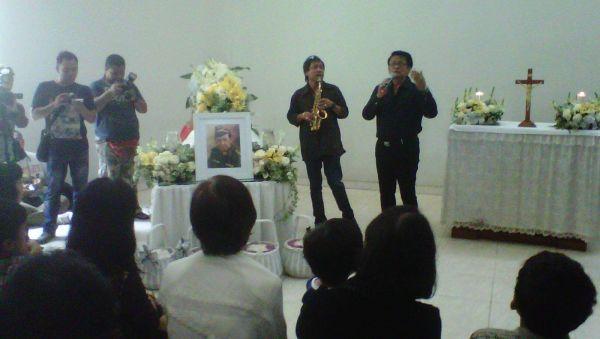 Jenazah Kris Biantoro Tiba di Krematorium