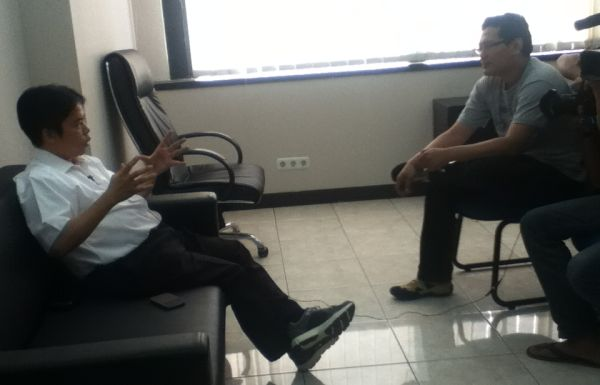 Dirut RNI Ismed Hasan Putro saat berkunjung ke Redaksi Okezone. (Foto: Okezone)