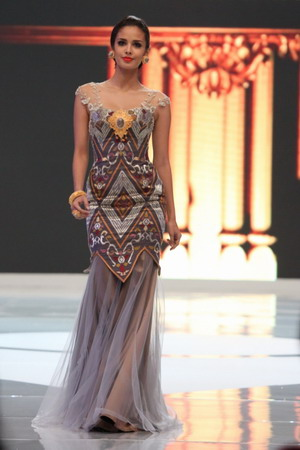 Megan young, kontestan Miss World 2013 asal Filipina