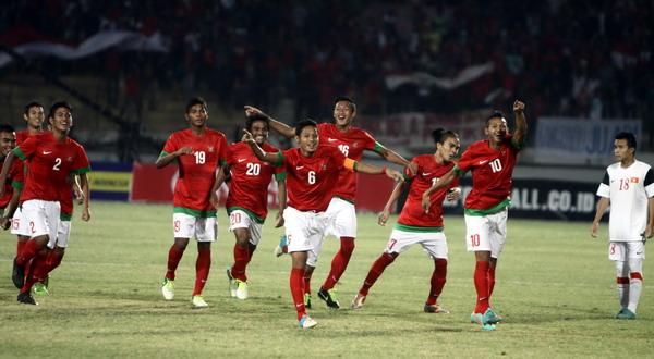 Para pemain Timnas Indonesia U-19 (Foto: SINDO)