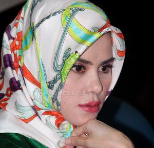 Hijab Ala Angel Lelga Terbaru