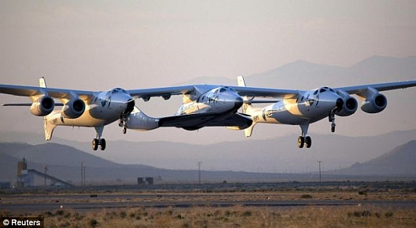 Virgin Galactic SS2. (foto: Reuters)