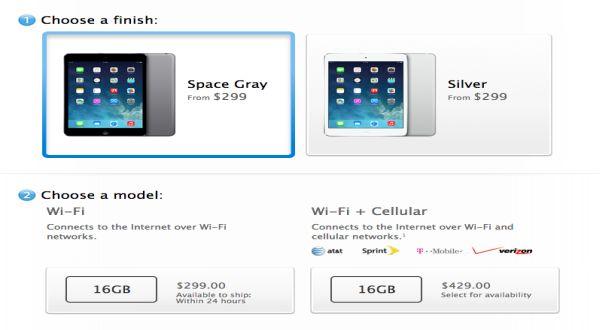 Kini, iPad Mini Tersedia dalam Warna 'Space Gray'