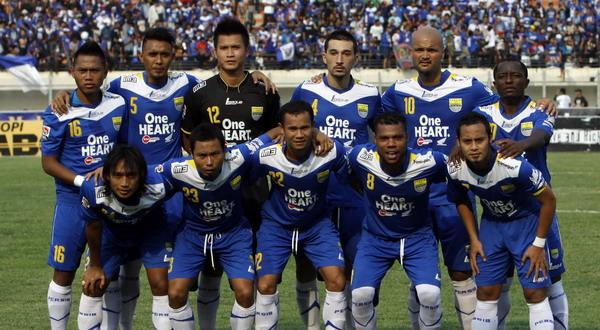 Skuad Persib Bandung di musim lalu. (Foto: Koran SINDO)