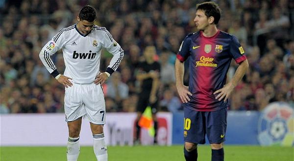 Cristiano Ronaldo dan Lionel Messi. (Foto: Telegraph)