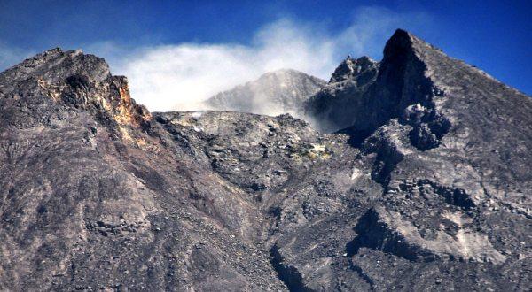 Puncak Gunung Merapi (Foto: Koran Sindo)