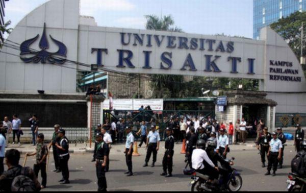 Universitas Trisakti. (Foto: Dede Kurniawan/Okezone)