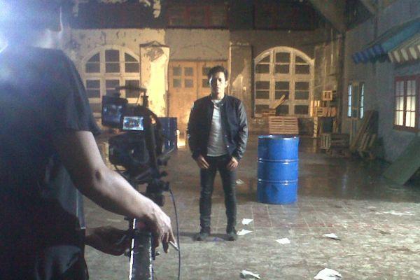 Noah saat syuting video klip 'Ini Cinta' di kawasan Kota Tua, Jakarta ...