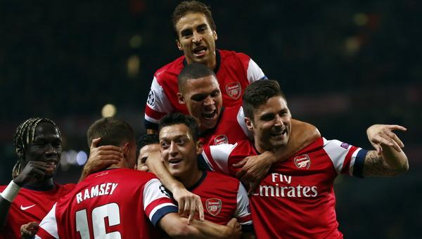 Arsenal. (Foto: Arsenal)