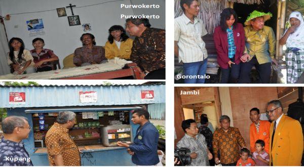 Mendikbud M Nuh mengunjungi penerima Bidikmisi di berbagai kota. (Foto: dok. Kemendikbud)