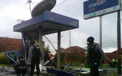 Ledakan ATM di Karangploso Bermotif Teror