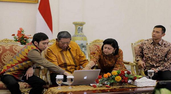 Asap item mistis menghantam SBY !