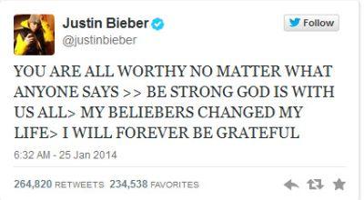 Tweet Pertama Justin Bieber Pascaditahan