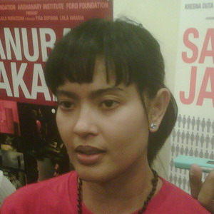 Sindir Skandal Politik, Lola Amaria Riset ke DPR