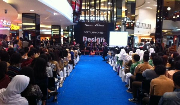 Soft launching Binus Northumbria Design School. (Foto: Faisal Harahap/Okezone)
