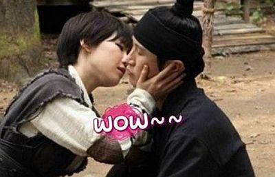 Ga In Terpaksa Gunakan Lidah Saat Ciuman di The Huntresses