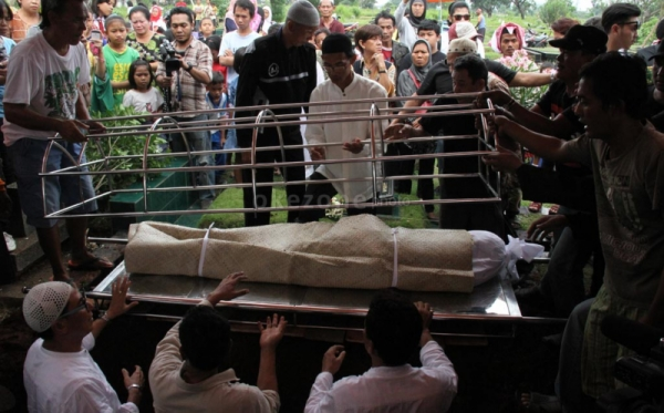 Ilustrasi. Prosesi pemakaman (Foto: Dok Okezone)