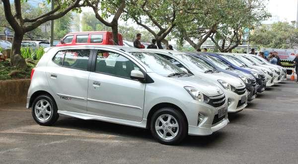 F: Astra Toyota Agya TRD S (ist)