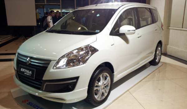 F: Suzuki Ertiga Sporty (Septian P/Okezone)