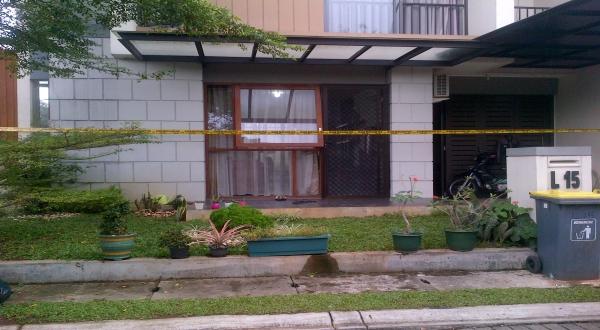 Rumah WN Korea yang dirampok (Foto: Isnaini/Okezone)