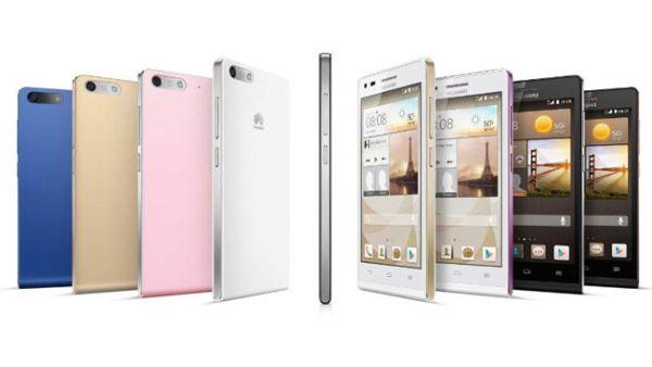 Ascend G6, Smartphone Quad-core