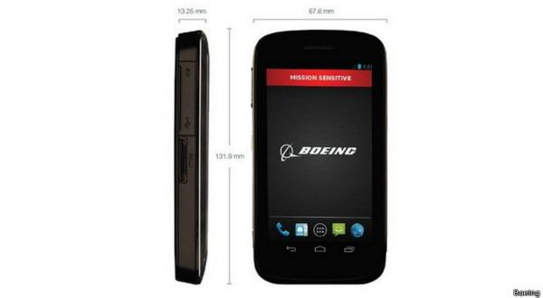 Boeing Kembangkan Ponsel Pintar Anti Sadap
