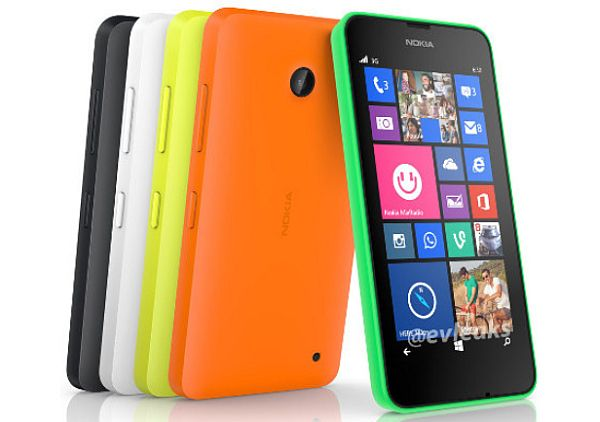 Lumia 630 Tampil Warna-warni